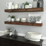 dining room floating shelves myneutralnest decorating kitchen corner shelf design mirrored over the sink bathroom storage cabinet shelving support systems wall units brackets 150x150