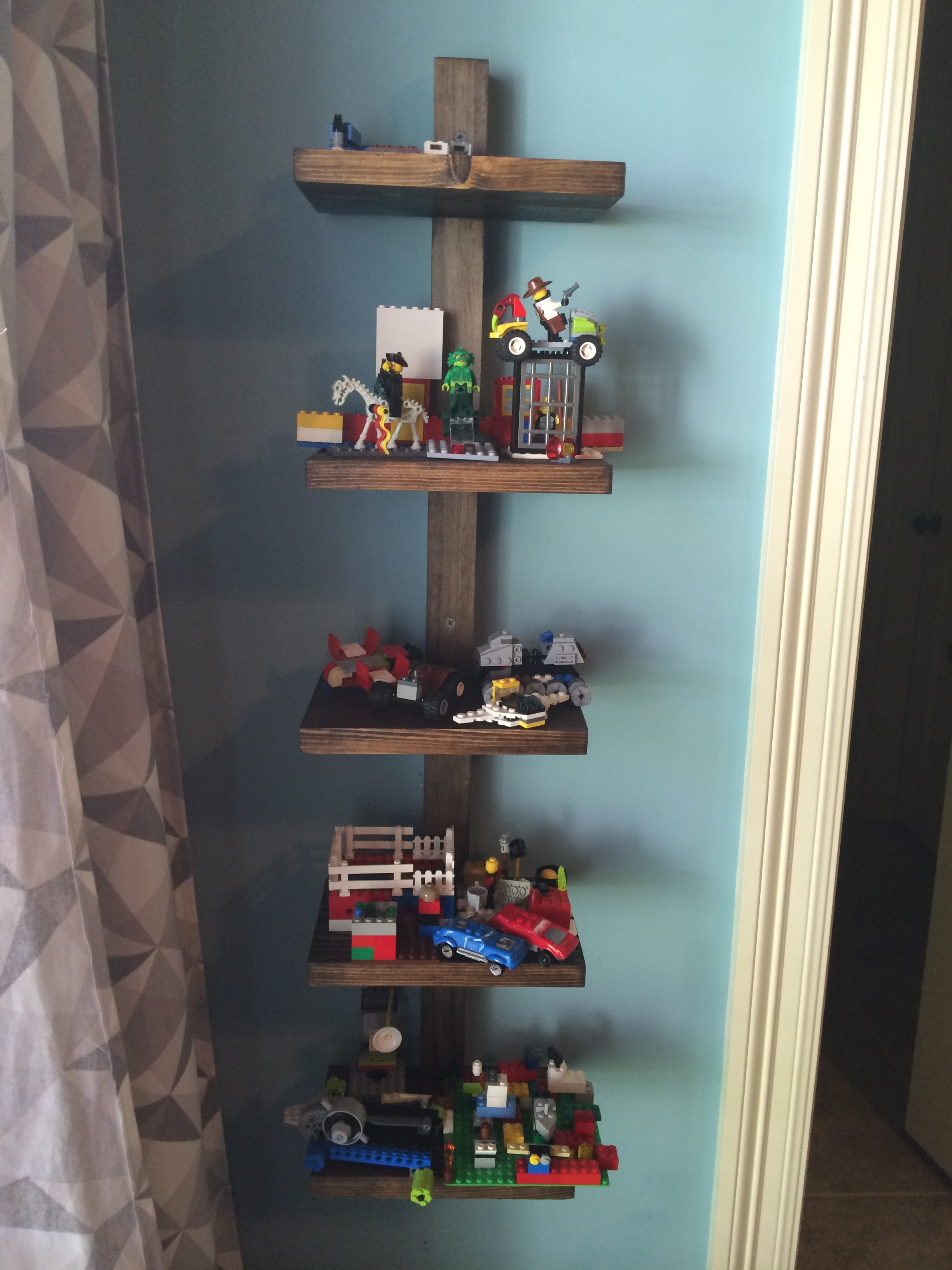 display bedroom shelves best lego shelf ideas ana white diy projects floating for mantel height shoe storage rack with baskets oak wall mounted desk sleeper mantle file bathroom