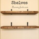 diy faux floating shelves mommy suite homemade shelf brackets design your wardrobe individual corner butcher block microwave cart adjustable shelving system countertop basin unit 150x150