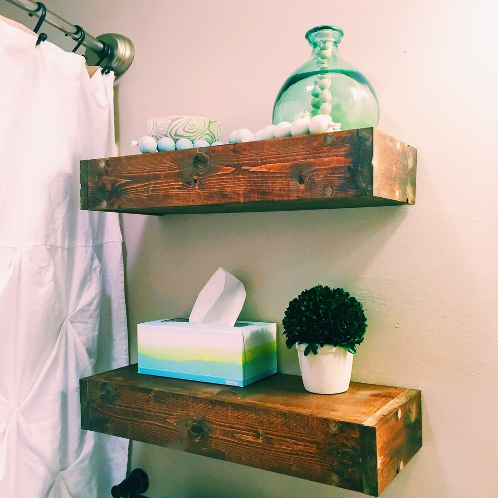 diy floating box shelves jessica rayome small bedside wall shelf kitchen top cabinets bathroom towel shelving unit media tower shoe storage cabinet ideas hanging reclaimed wood
