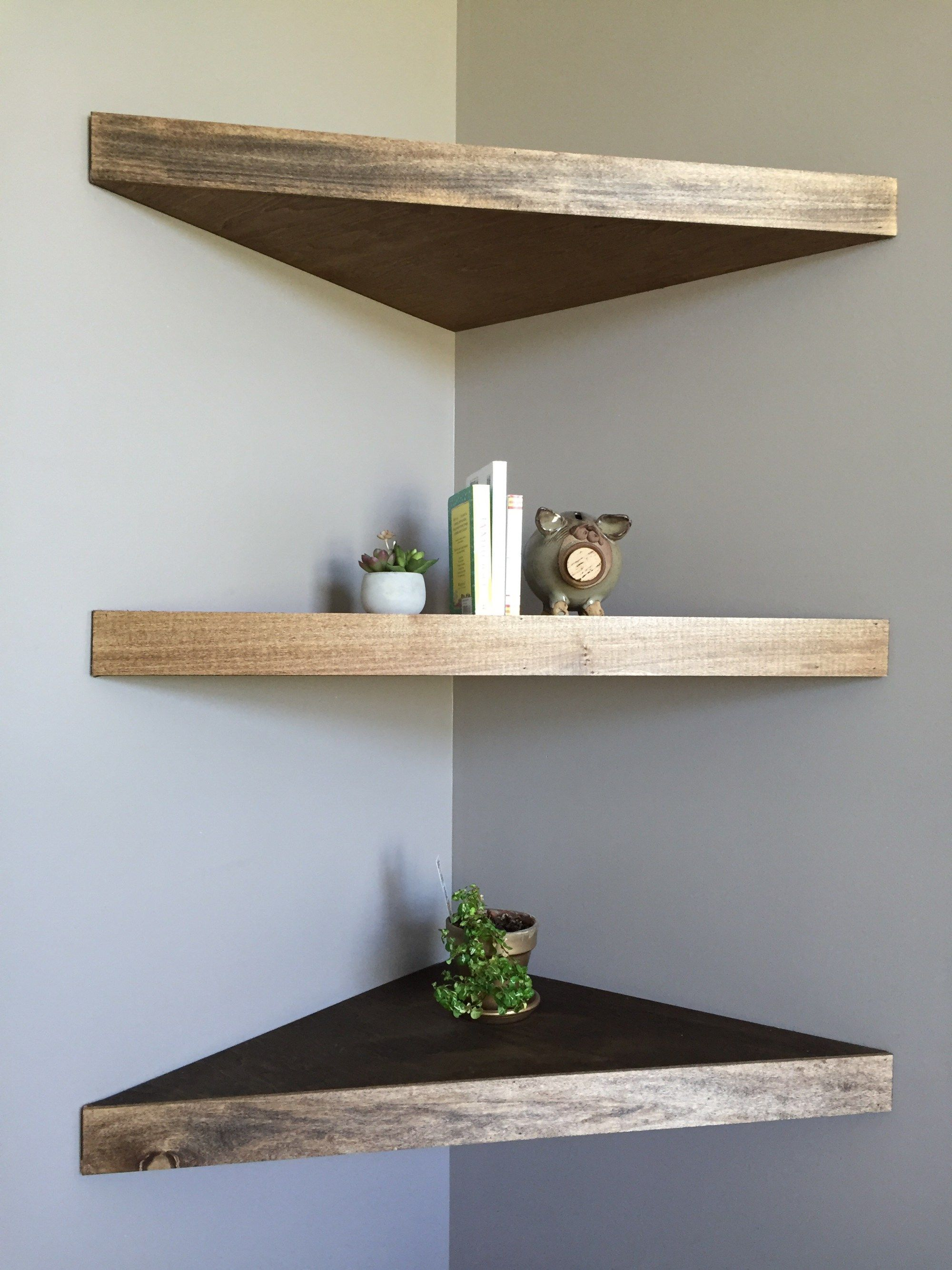 diy floating corner shelves for the home with lights rollable kitchen island wall mounted mirror coat hooks wooden rack storage ikea metal glass shelf suppliers industrial hidden