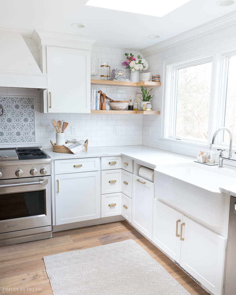 diy floating corner shelves our kitchen all the details shelving wood building for toilet wall shelf contemporary mantels fireplace surrounds white coat hanger ikea nornas bench