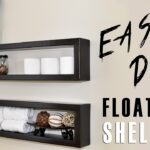 diy floating shelf white rectangular heavy duty industrial brackets stainless steel hanging shelves wall mounted storage pack kitchen bathroom unit narrow glass short shoe cabinet 150x150