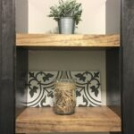 diy floating shelves for the laundry room welsh design studio after long kitchen island ideas ikea malm shelf wall mount small oak lintel fireplace tall slim shoe storage modern 150x150