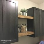 diy floating shelves for the laundry room welsh design studio after solid wood white tempered glass shelf brackets closet hanging dimensions display ideas ledge and bracket garage 150x150