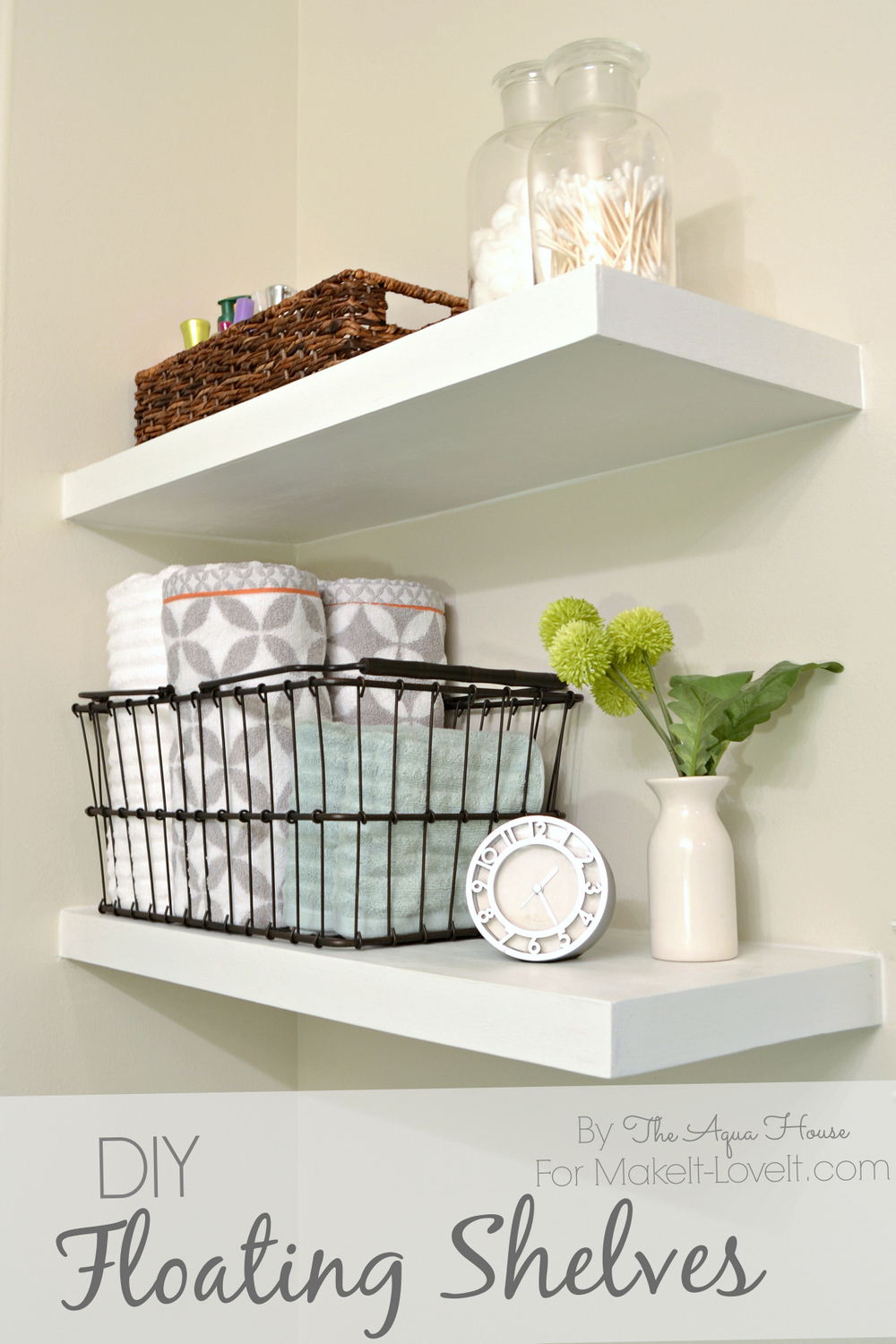 diy floating shelves great storage solution make and love floatings title hang shelf without brackets inch kitchen windows over sink garage for shovels book dividers distressed