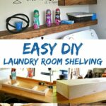 diy floating shelves installation laundry room freshen your with this easy shelf project learn how pantry spacing display ideas cherry wall hardwood mantels glass dvd brackets 150x150