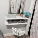 diy floating shelves makeup vanity room decor shelf heavy duty garage storage ikea lack bracket bookshelf gun cabinet shelving unit cover bathroom with open entryway hanging wall 150x150