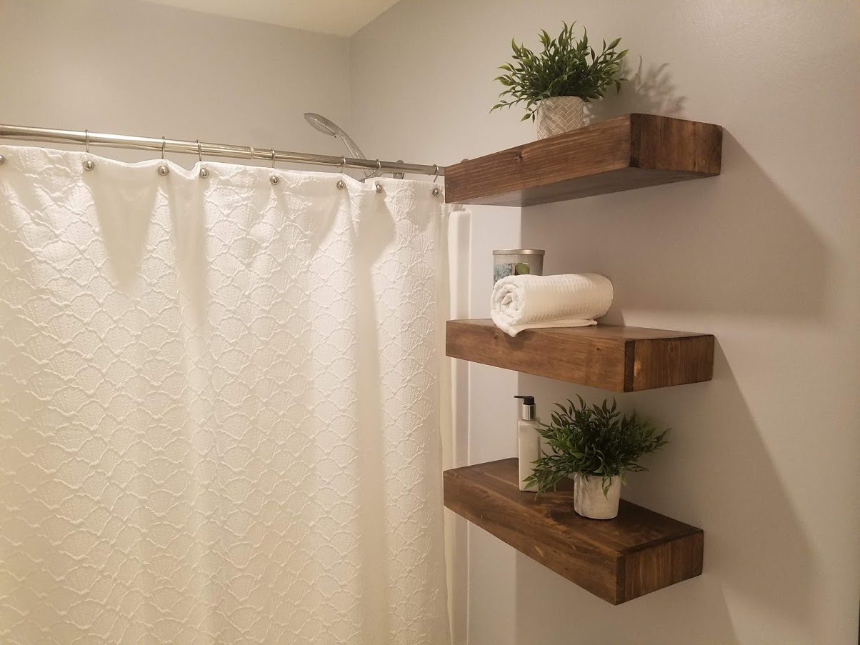 diy floating shelves ranger remodel sideshelves dowels open closet rack standard width bookshelf corner table wooden shelving units damage free curtain rods mirrored drawer