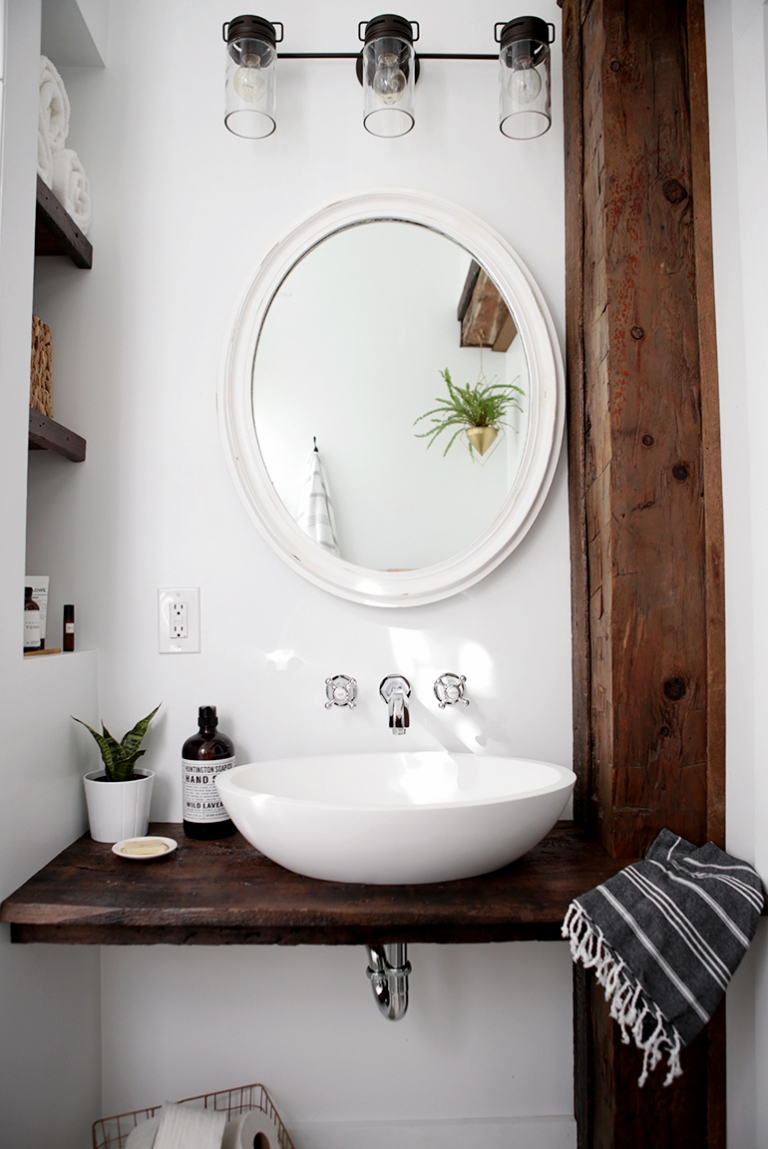 diy floating sink shelf the merrythought bathroom basin themerrythought chrome bath with towel bar floor standing shelving unit wall shelves doors retail dvd player stand for