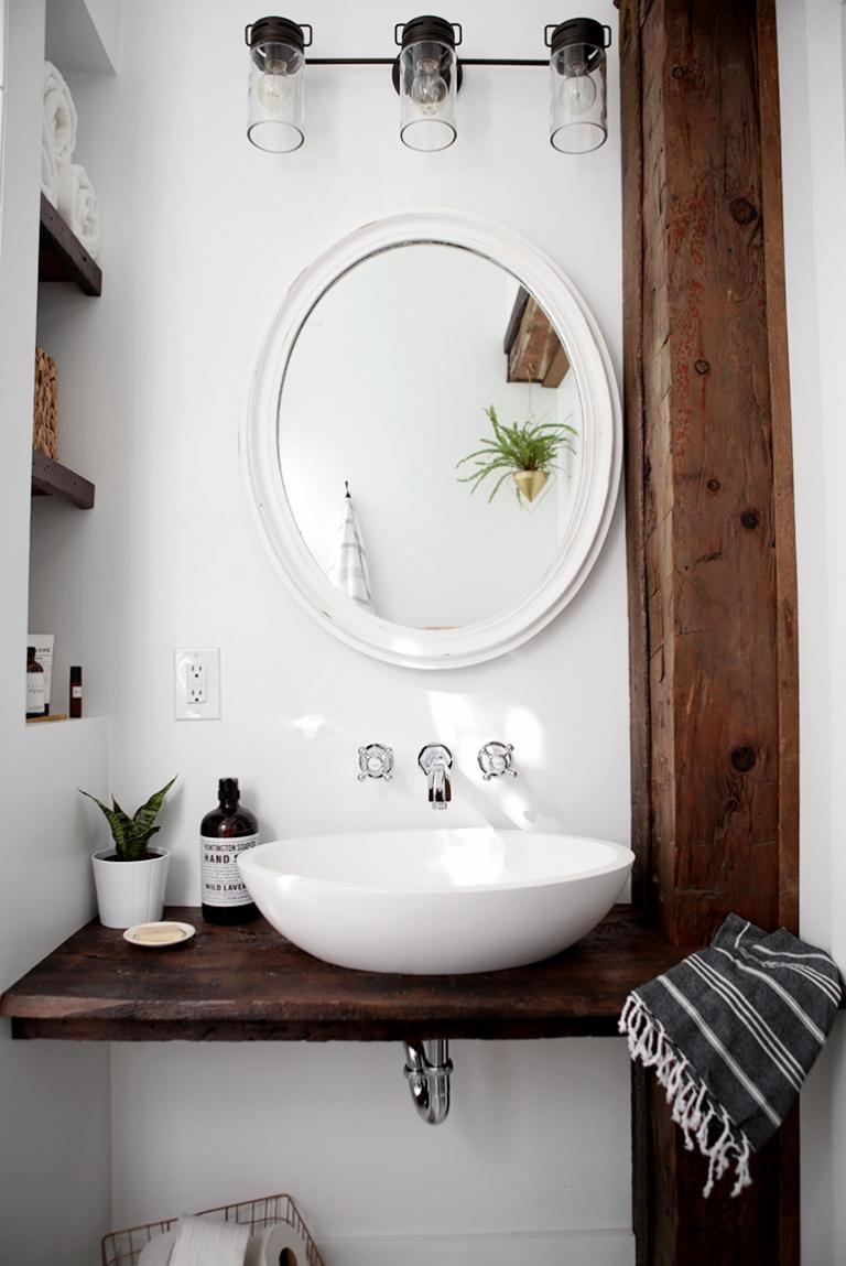 diy floating sink shelf the merrythought for bathroom themerrythought bar counter support over storage argos white wall shelves ikea lack grey corner bookshelf soundbar french