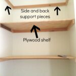 diy heavy duty floating shelves for visually corner shelf target ture can you use self adhesive floor tiles walls kitchen box stand metal coat and shoe cart with butcher block top 150x150