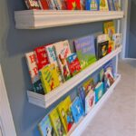 diy how make your own nursery bookshelves from leftover floating grey gloss shelves wall shelving units wood low shoe storage hidden compartment hinges entryway mounted coat rack 150x150
