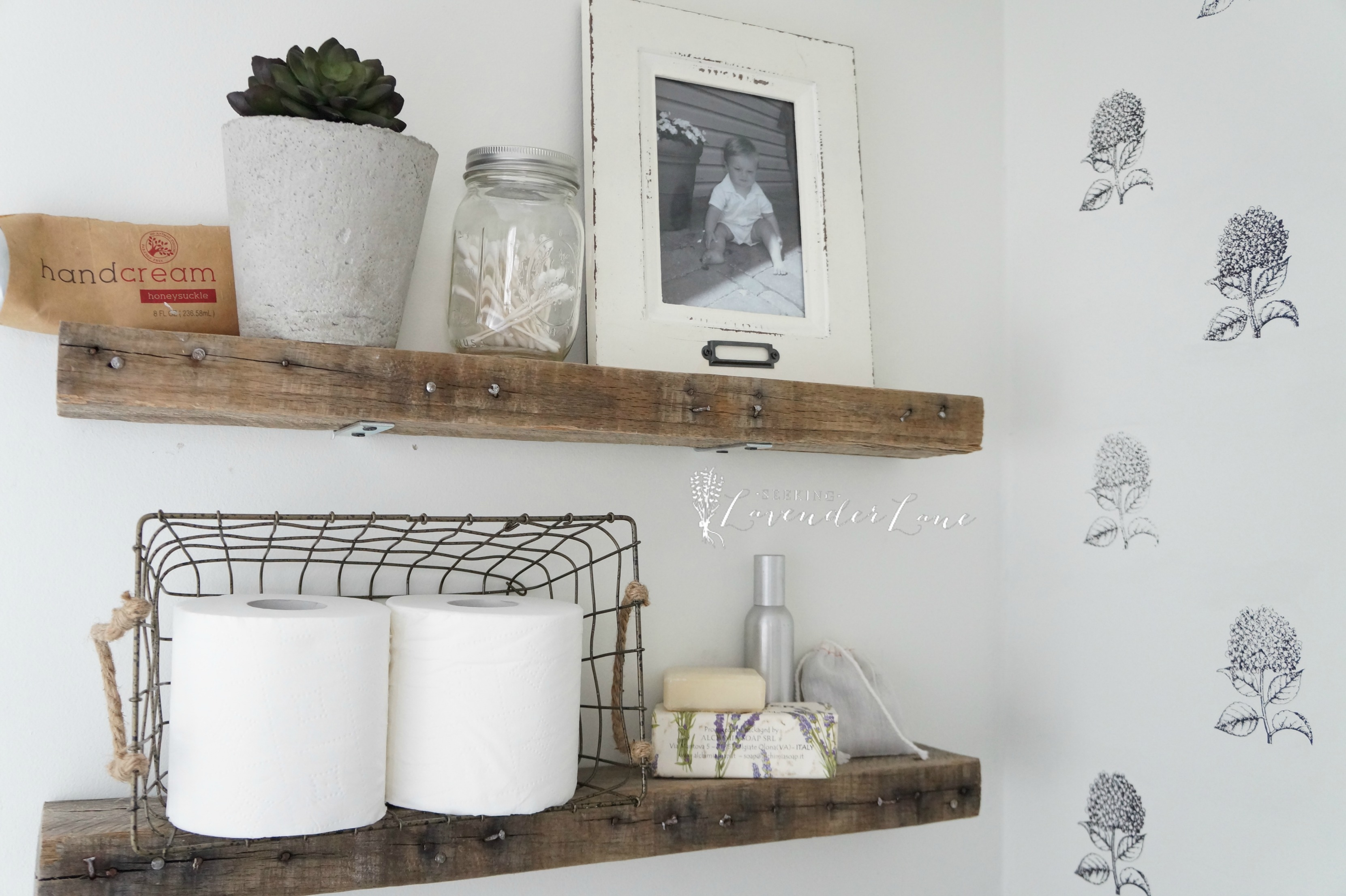 diy rustic bathroom shelves seeking lavendar lane pallet wood floating cream grey shelf board shoe hanging ideas inch wall coat rack white high gloss cube storage that hang