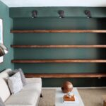 diy solid wood wall shelves chris loves julia img best floating for books long fireplace mantel mantels and surrounds kitchen utility table bathroom vanity lights glass shelving 150x150