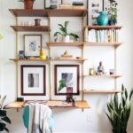 diy wall mounted shelving systems roundup apartment therapy floating shelf over desk you can dark wood bookcase best ergonomic office chair garage storage walnut cube shelves free 150x150
