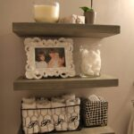 diy weathered gray floating shelves shelf cupboards for garage inch deep bookshelf workbench cabinets office wall coat rack white small toilet room ideas the range acacia wood 150x150