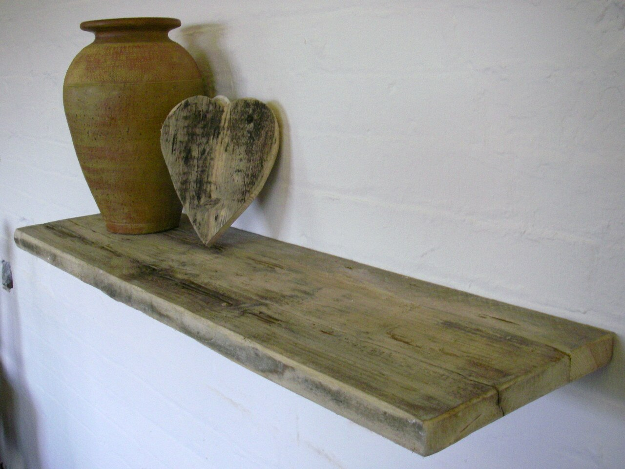 driftwood floating shelves dream house design ideas natural reclaimed rustic wood shelf canvas for wall and alcovenatural laying peel stick tile concrete floor portable steel