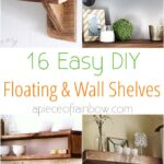 easy and stylish diy floating shelves wall piece apieceofrainbow with brackets tutorials building beautiful for your home check replace vinyl floor tile flat screen mount cable 150x150