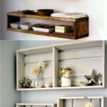 easy and stylish diy floating shelves wall pinners cube wood extra large bloggers home decor mounted wooden kitchen trolley cupboards secret cabinet command hooks that hold lbs 150x150