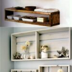 easy and stylish diy floating shelves wall projects box ideas piece rainbow under shelf bracket racking drawer walnut tier garage storage design entryway bench coat rack ikea 150x150