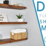 easy diy floating shelves bracket creators homemade shelf brackets white storage elastilon installation corner wall mount dvd butcher block microwave cart countertop corbels 150x150