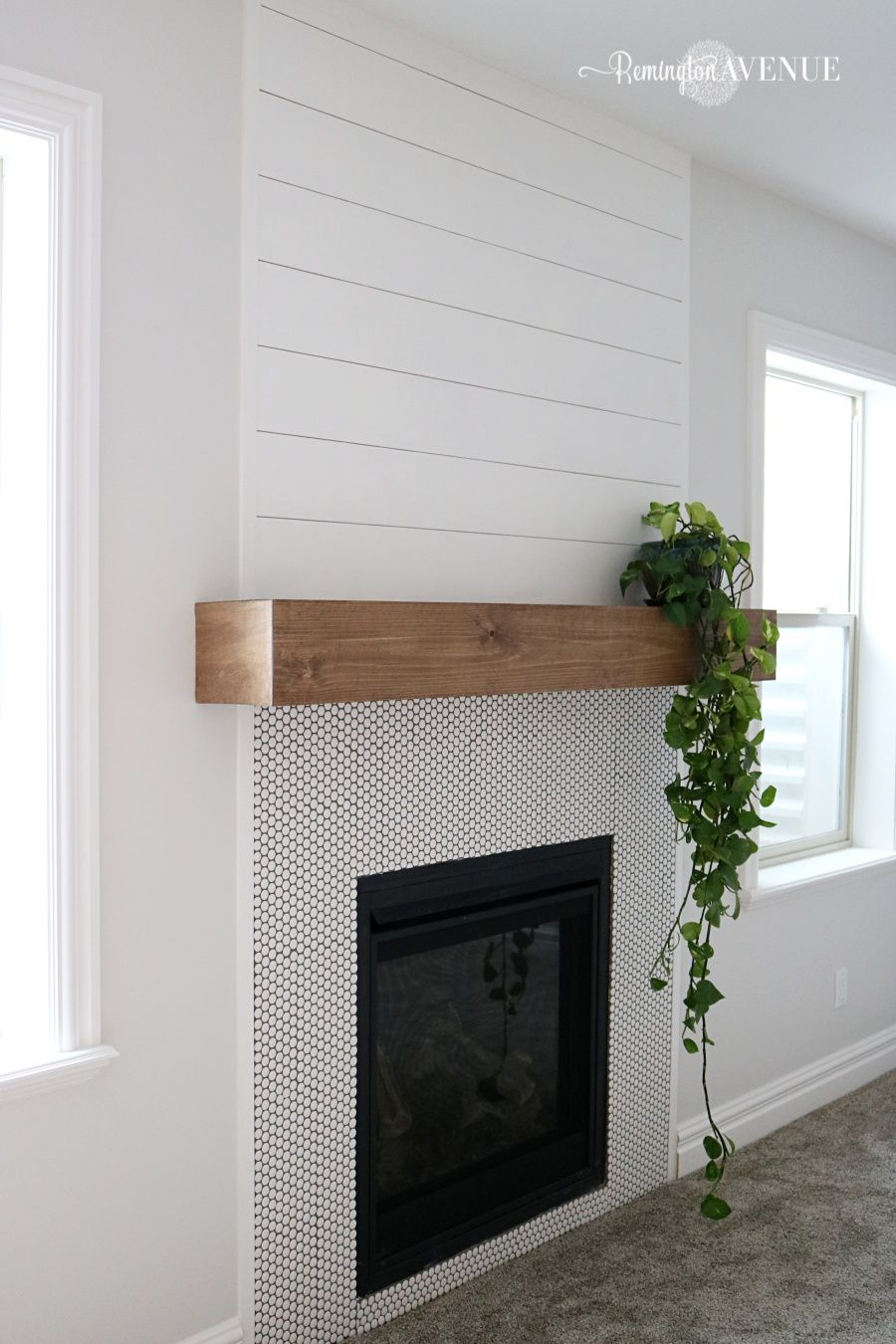 easy diy wood mantel stunning mantels home fireplace floating shelf white love how clean and fresh like this look sell hardware you can create your own unique check out our