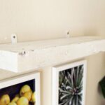 easy faux diy floating shelves minutes piece rainbow wall shelf apieceofrainbow without screws screw the brackets and onto because there are only tiny bits showing very each hide 150x150