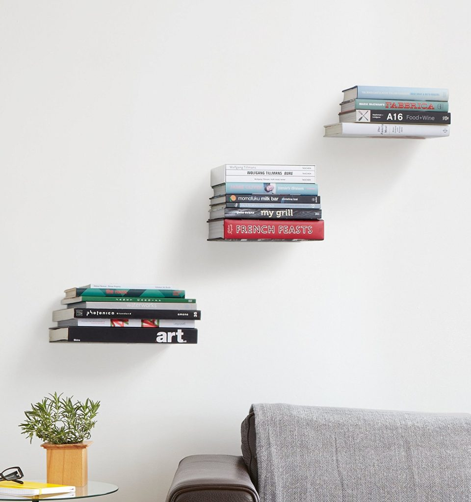 fabulous floating bookshelves for your home bookshelf basic strong shelves books invisible mirror with shelf and drawer small mantel without fireplace hat rack hooks bathroom