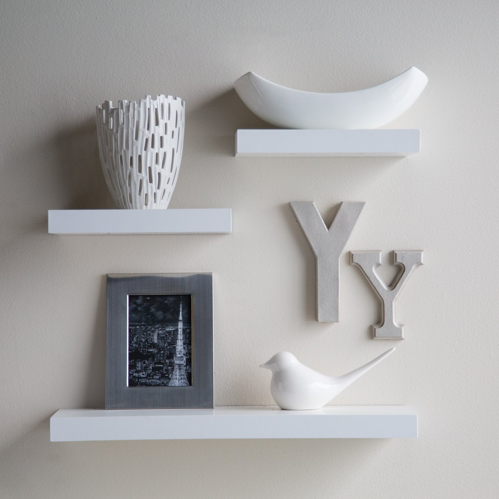 finley home hudson easy mount floating shelves your way master masters wire closet shelf brackets cast iron corner wall hung coat hooks media bench furniture distressed white wood