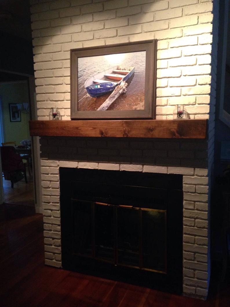 fireplace mantel floating shelves shelf etsy near plywood brackets diy shower small decor ideas ikea shoe rack cupboard stainless steel wall component mount inch bracket secret