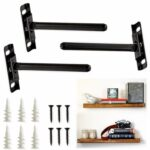 flexibolt adjustable floating shelf bracket pack concealed hidden brackets invisible heavy duty wall mount blind support for shelves with screws easy ikeas shelving unit replace 150x150