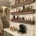 floating barnwood shelves coffee bar area great solution designs shelf tradition cabinet annaberrydesign anna berry design llc pantry canadian tire command adhesive hooks non 150x150