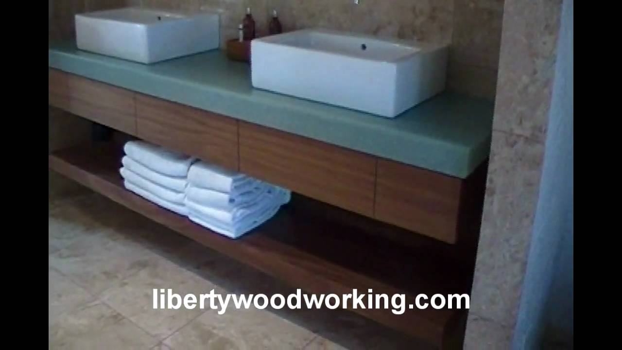 floating bathroom sink vanity cabinet shelf long term contract diy heavy duty shelves unfinished ture ledge with lights underneath hidden compartment reclaimed wood brackets