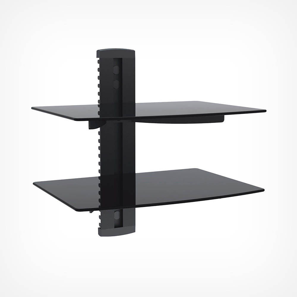 floating black glass shelf vonhaus instructions grey oak shelves vcr wall mount sneaker long skinny narrow kitchen island with drawers metal for racks dishes frameless small