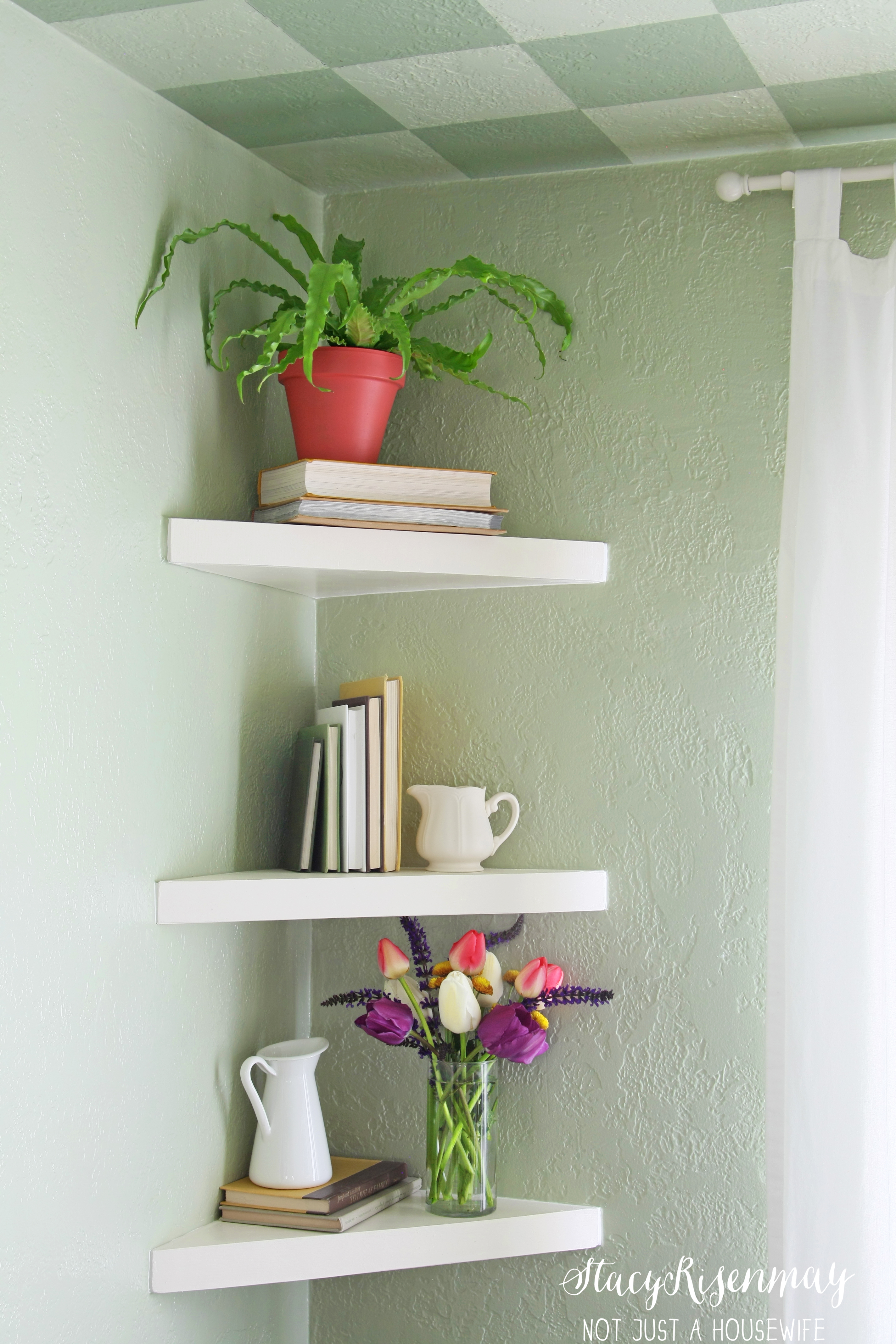 floating corner shelves stacy risen triangle shelf shleves utility wall black glass media storage kitchen trolley kids bookshelf plans ikea book rack command hooks heavy screw