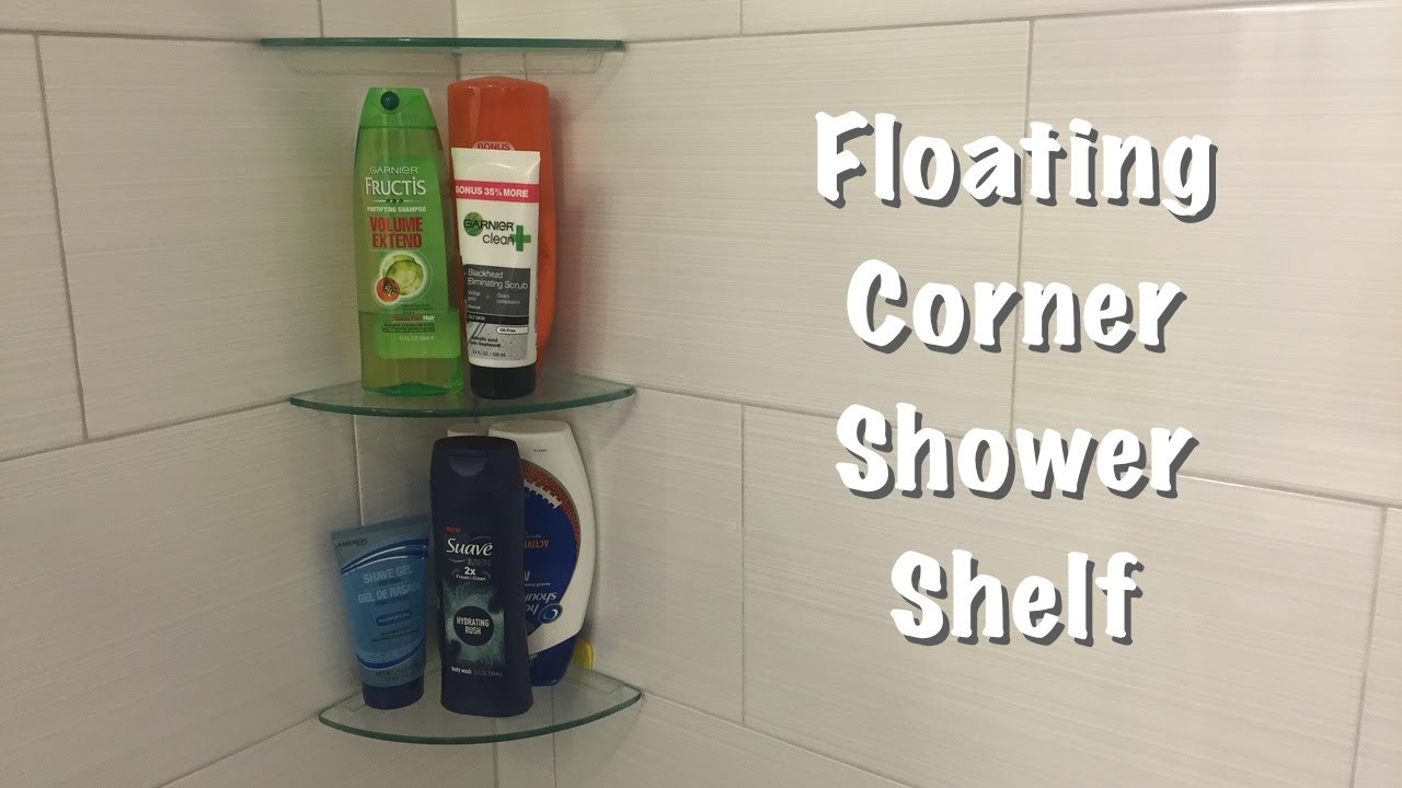 floating corner shower shelf inplace shelving wall depth installing vinyl flooring over wood storage area kitchen ture hanging hooks open front cabinets vertical shoe granite