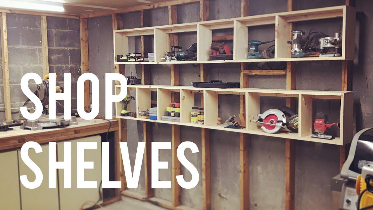floating garage shelves storage diy woodworking glass shelf fittings adding kitchen closet shoe racks size beam mantel shelving instead cabinets tall unit bathroom sink designs