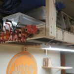 floating garage storage loft and clamp rack jackman works ideas small solutions plans woodworking projects shelves wasted space plywood inch brackets bunnings shelving kitchen 150x150