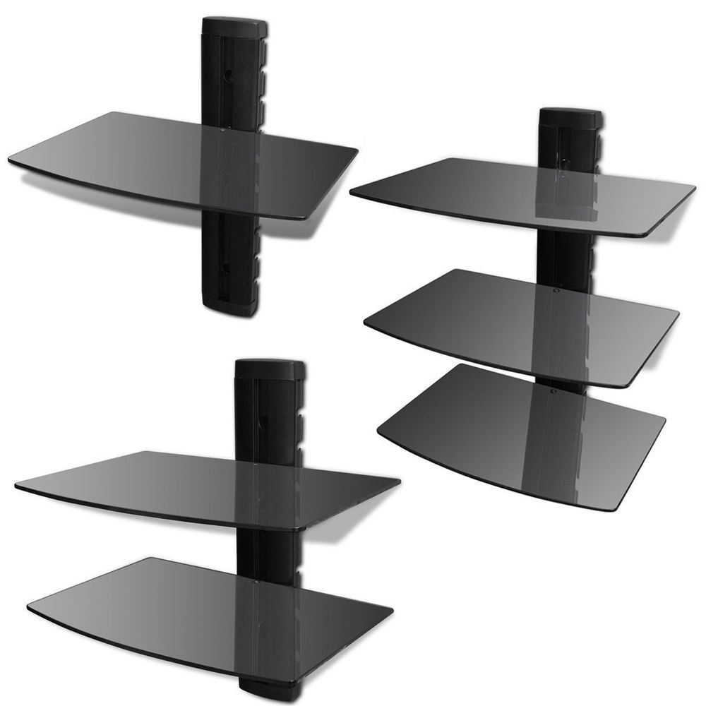 floating glass shelves black sky box xbox wall mount bracket for details about homemade crown molding bathroom corner shelf ikea over door shoe storage custom made closet under