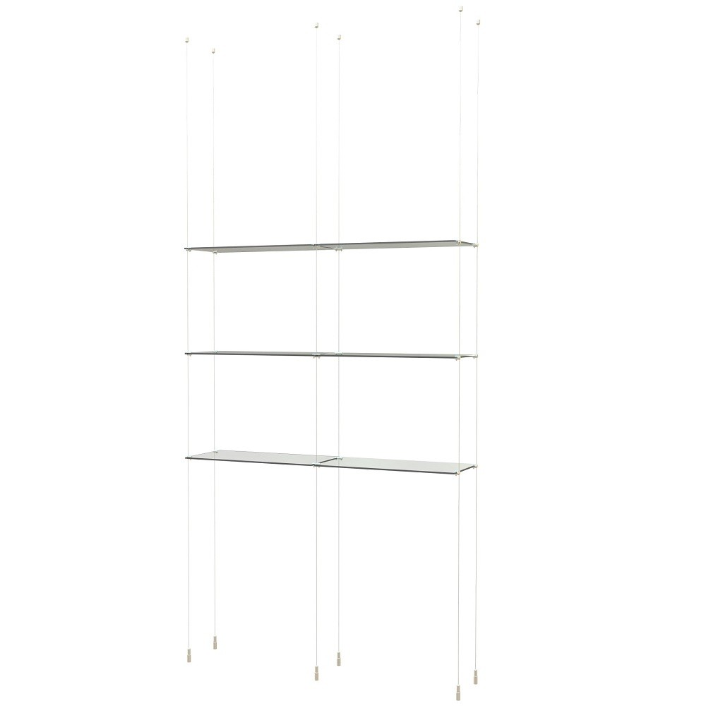 floating glass shelves cable fgsc shelf eyeglass display products ups wall mount custom home office ideas entertainment black cube kitchen island bar brass shower fixtures chrome