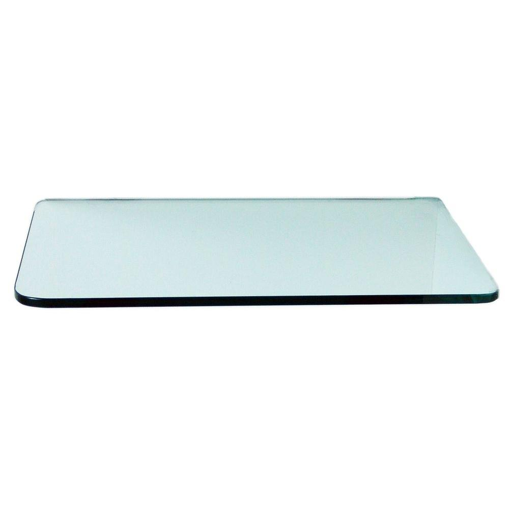 floating glass shelves rectangle corner shelf clear varies size entryway mirror hooks cloud gloss furniture built desk ideas against long wall beech effect black supports tile