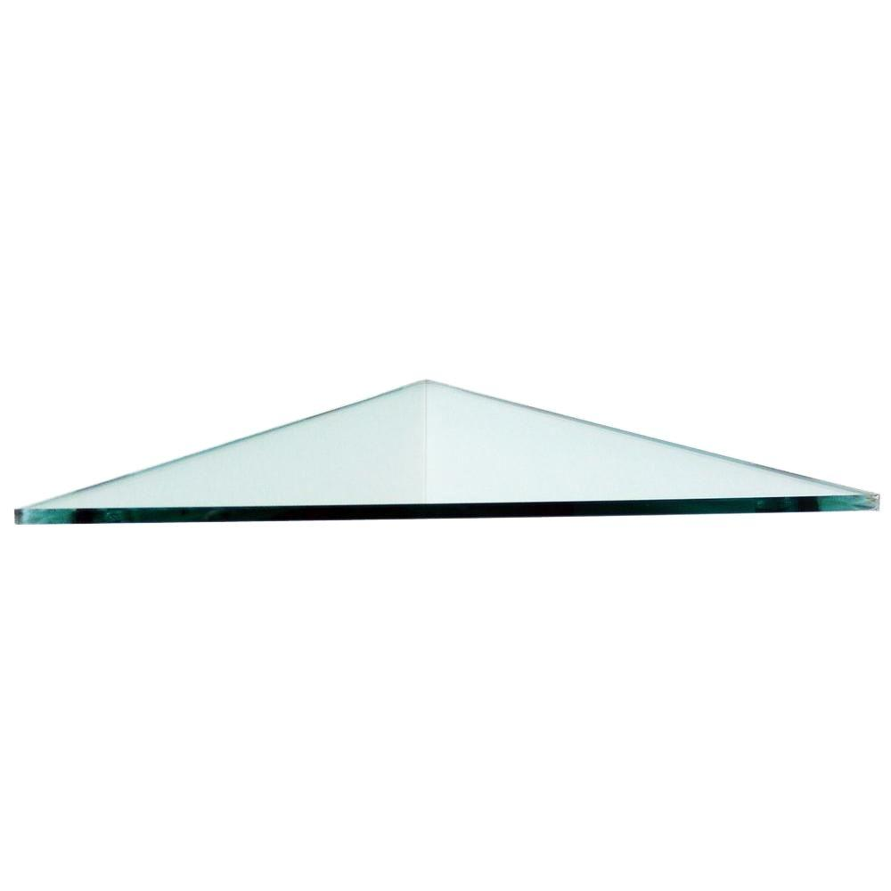 floating glass shelves triangle corner shelf varies size the command strips for concrete walls drawers chrome kitchen chaise lounge slipcover cherry ikea vintage bathroom creative