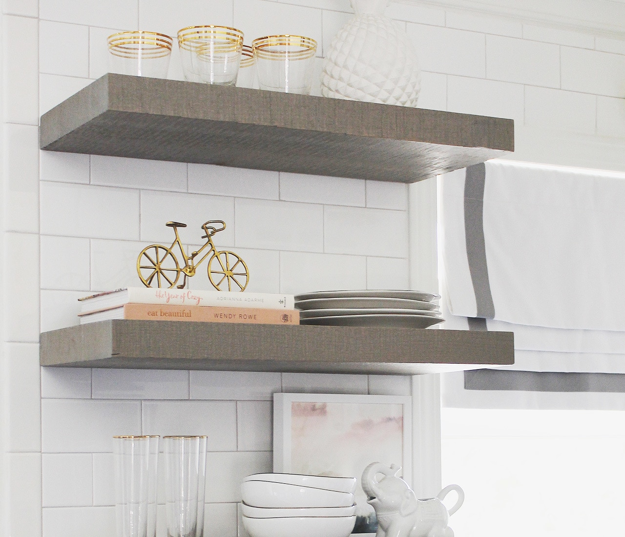 floating shelf bracket fits inch shelves gray kitchen light heavy duty easily install with our steel large mantel black square dish storage solutions homebase white ode furniture