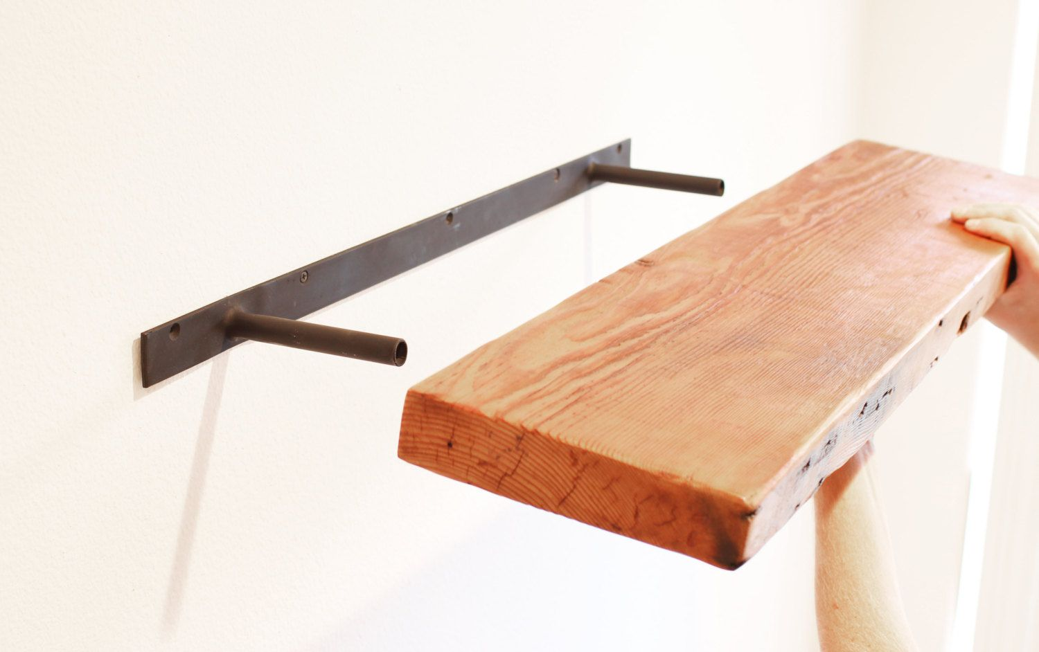 floating shelf brackets steel heavy duty from invisible the original bracket patent pending beware imitations seamlessly support your rad shelving wood bar shelves ikea kallax