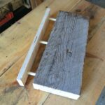 floating shelf idea using hidden dowel for support woodcraft shelves dowels corner sky box across kitchen window self adhesive linoleum flooring homebase units ikea mirror 150x150