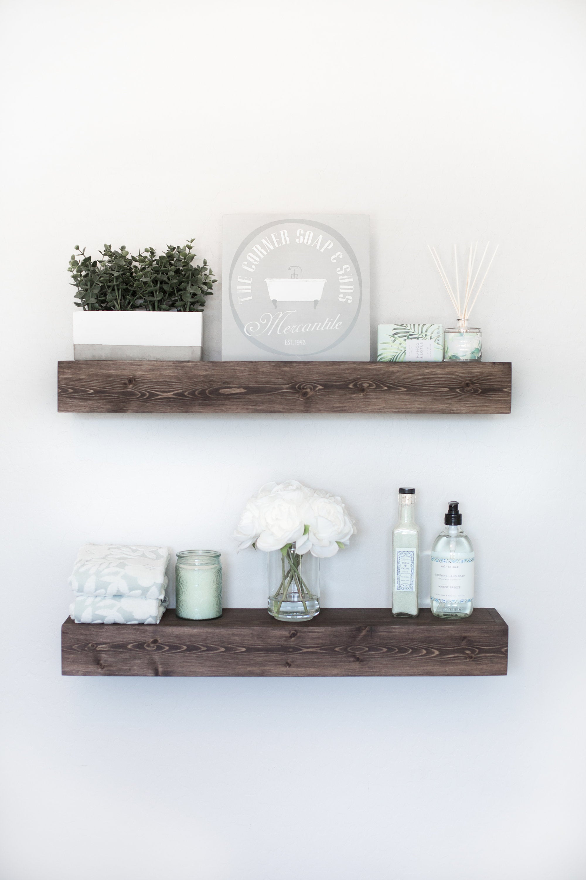 floating shelf rustic ledge wooden etsy fullxfull cpyw grey wood shelves adjustable bookshelf brackets argos glasgow chandelier ceiling light cute ideas dvd rack big shoe ikea