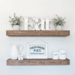 floating shelf rustic ledge wooden etsy fullxfull gnap shelves gold coast butcher block kitchen island free standing with granite top fireplace mantel white ikea cube unit smoked 150x150