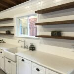 floating shelf white distressed wood hanging reclaimed shelves design for kitchen storage and shelving solutions large ikea secret small stainless steel garage organizers average 150x150
