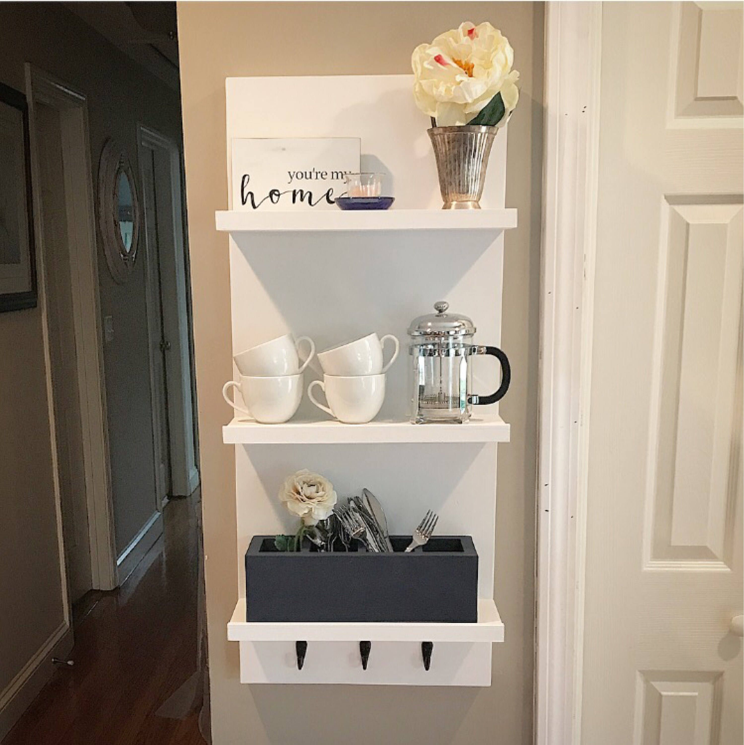 floating shelves bathroom shelf with hooks kitchen white solid oak mantelpiece rustic knick knack width closet height stone fireplace industrial pipe brackets what wall garage